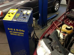 Auto Air Conditioning Charge