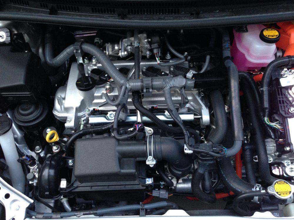 Toyota Prius gas engine